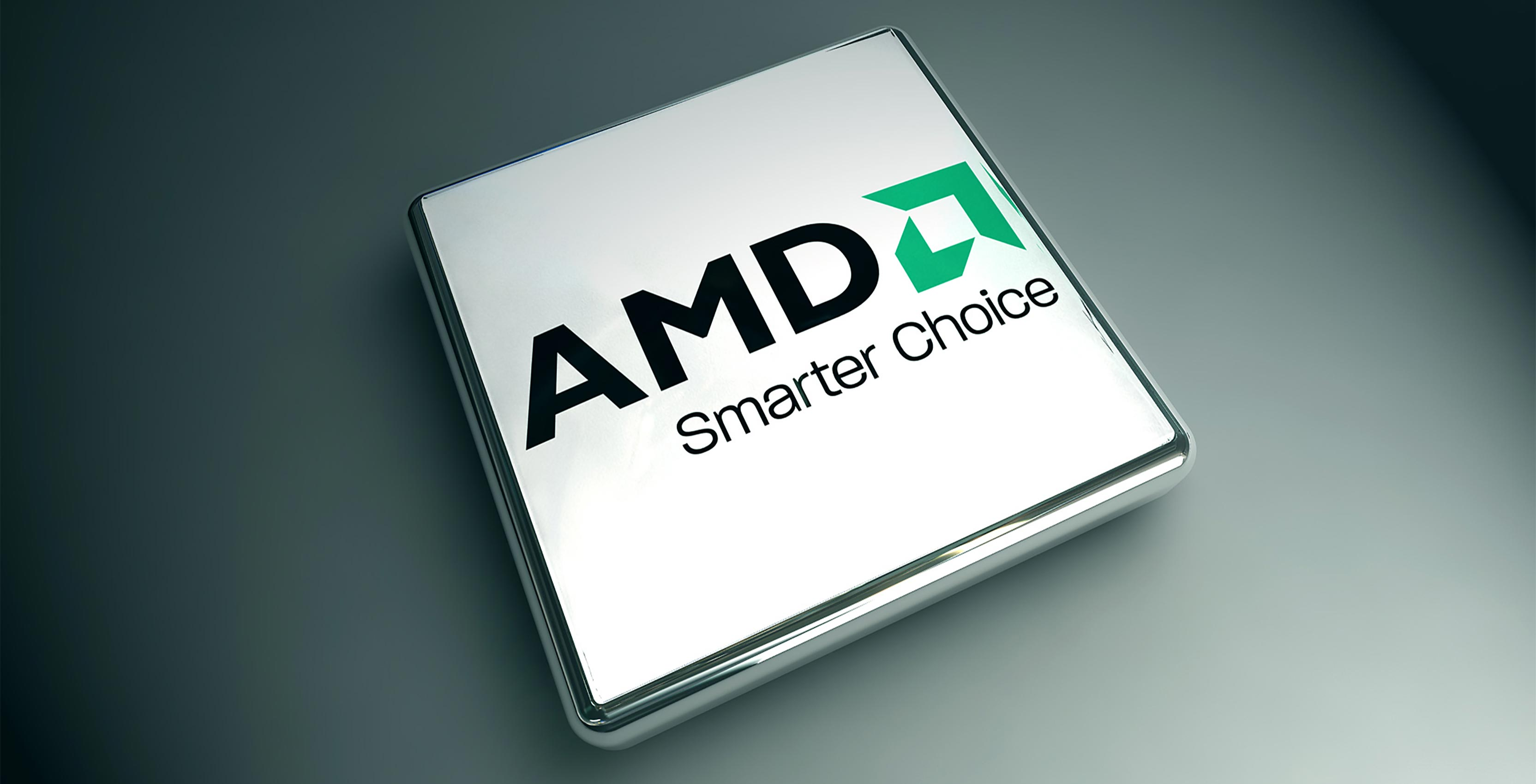 AMD stock image