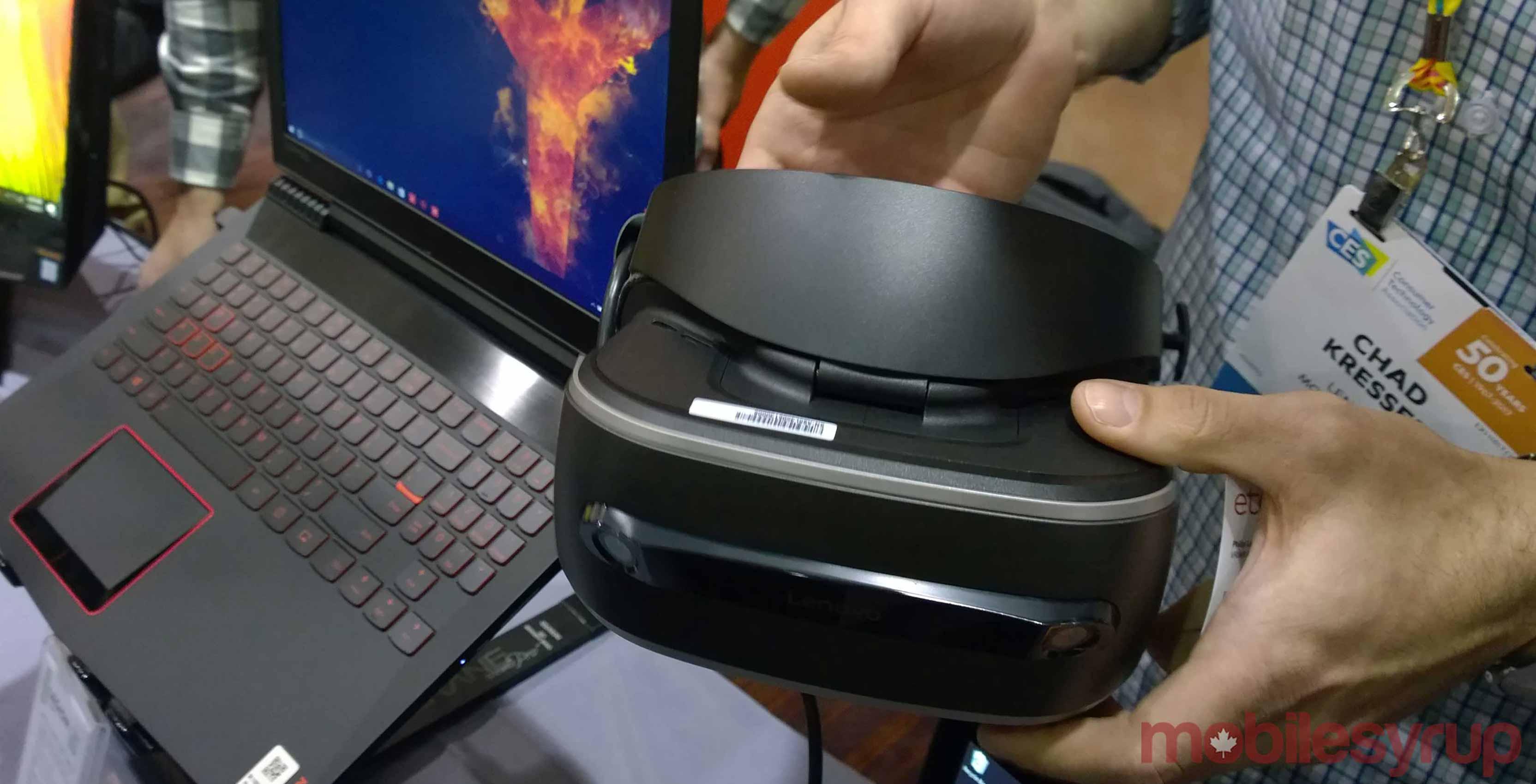 Lenovo VR/MR headset coming before September