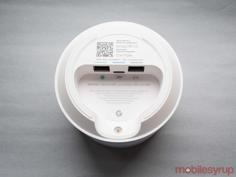 google wifi rear