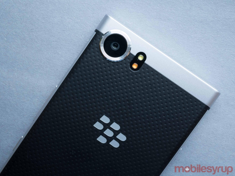Blackberry keyone back