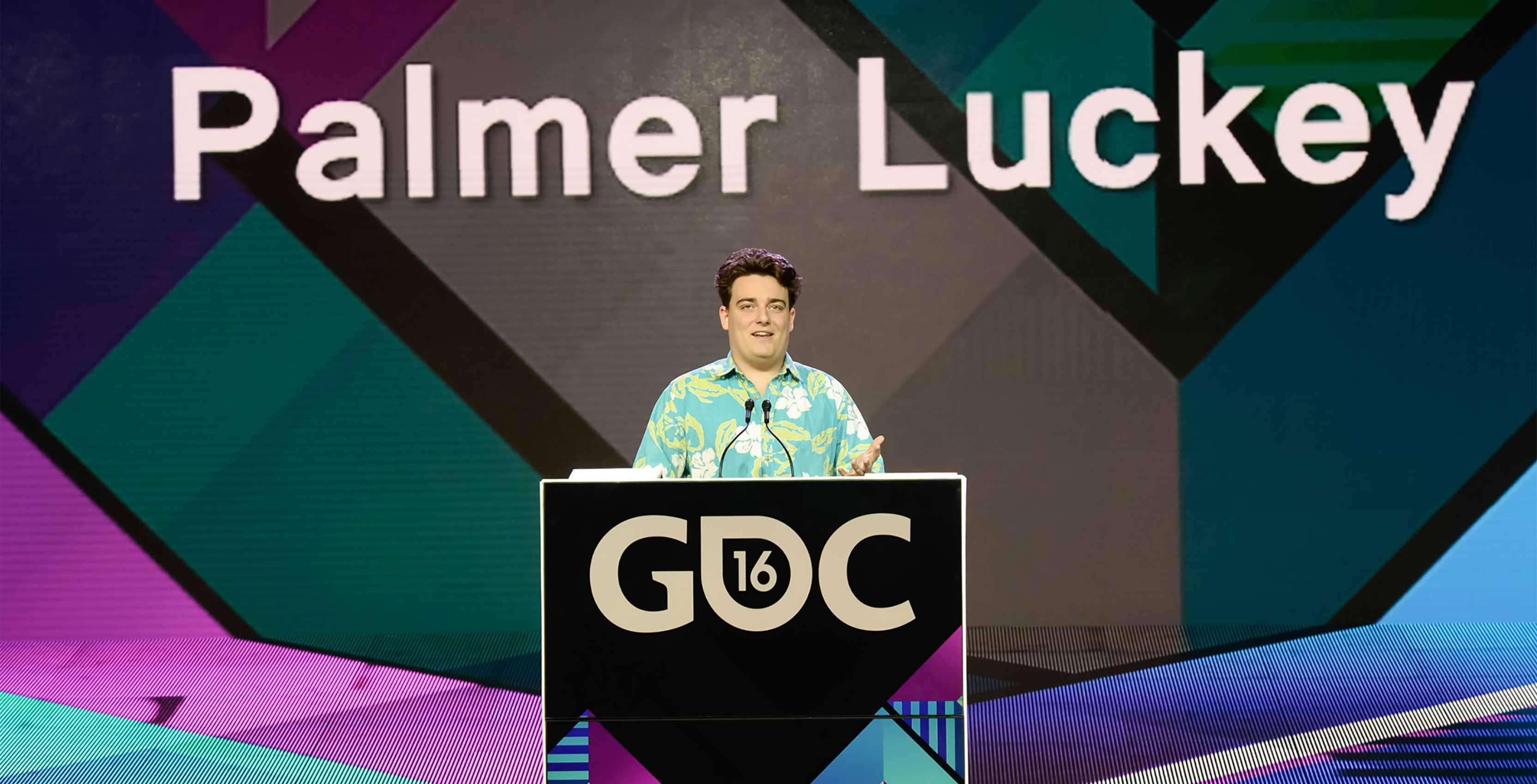 Palmer Luckey Oculus