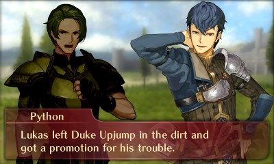 Fire Emblem Echoes: Shadows of Valentia dialogue