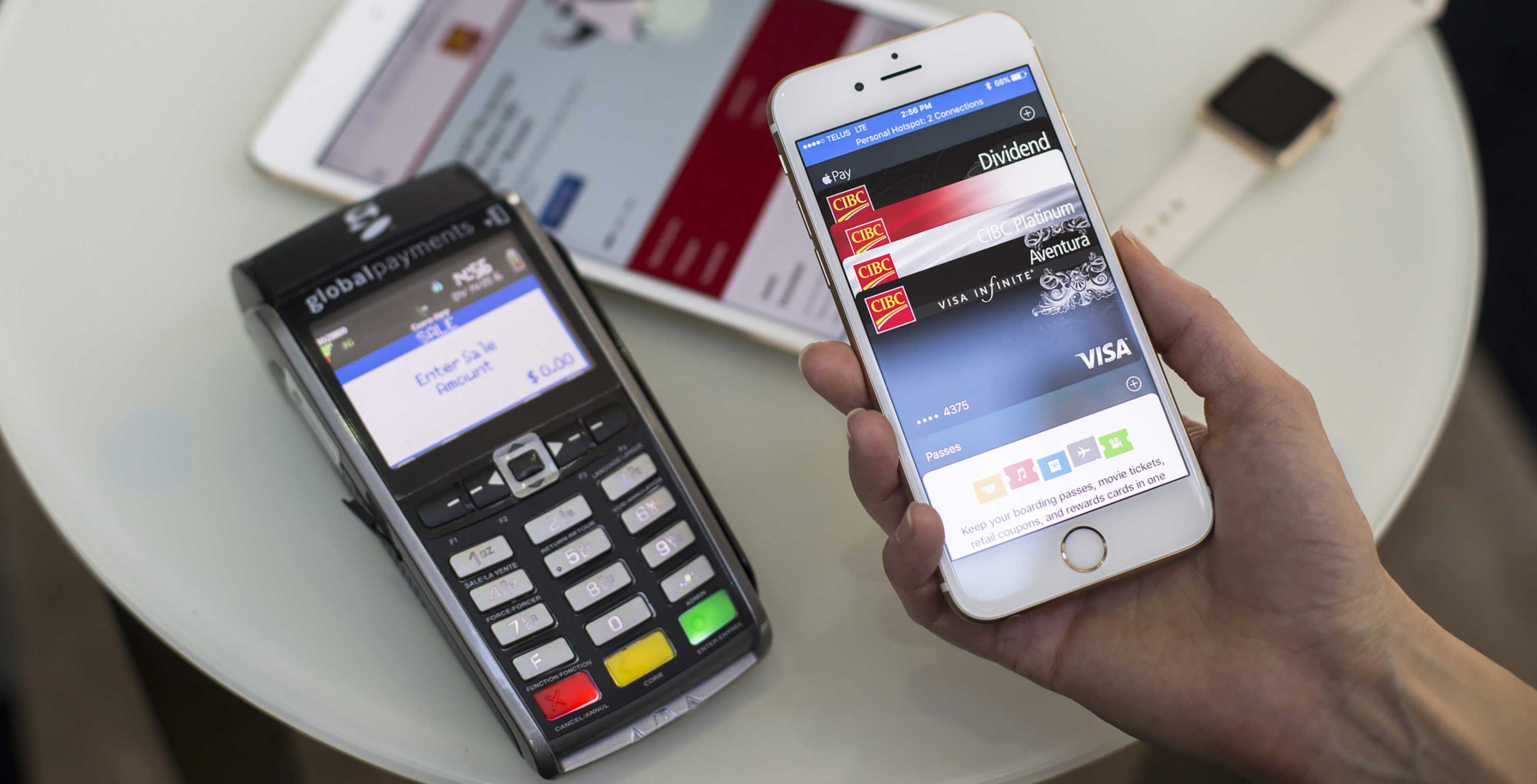 Apple Pay e-wallet