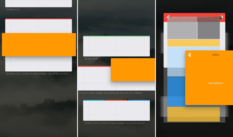 Armadillo UI on Fuchsia OS