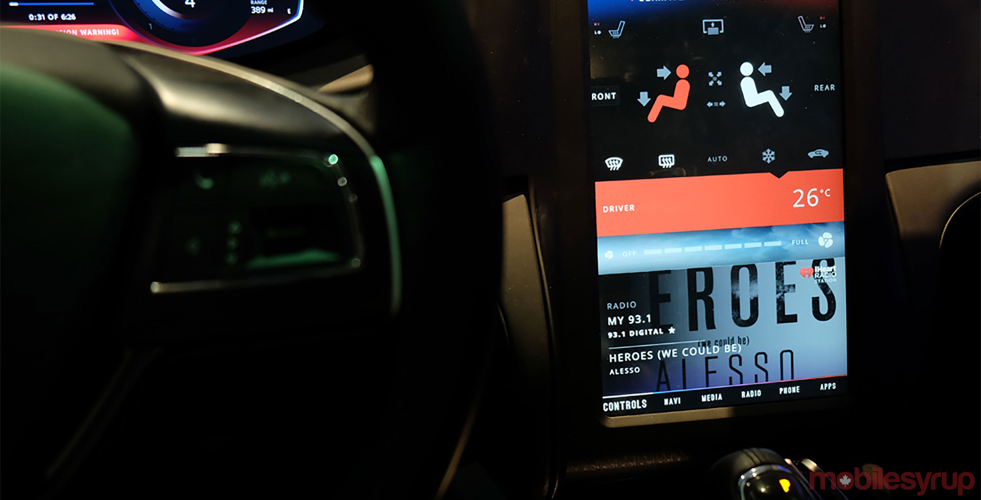 BlackBerry in-car