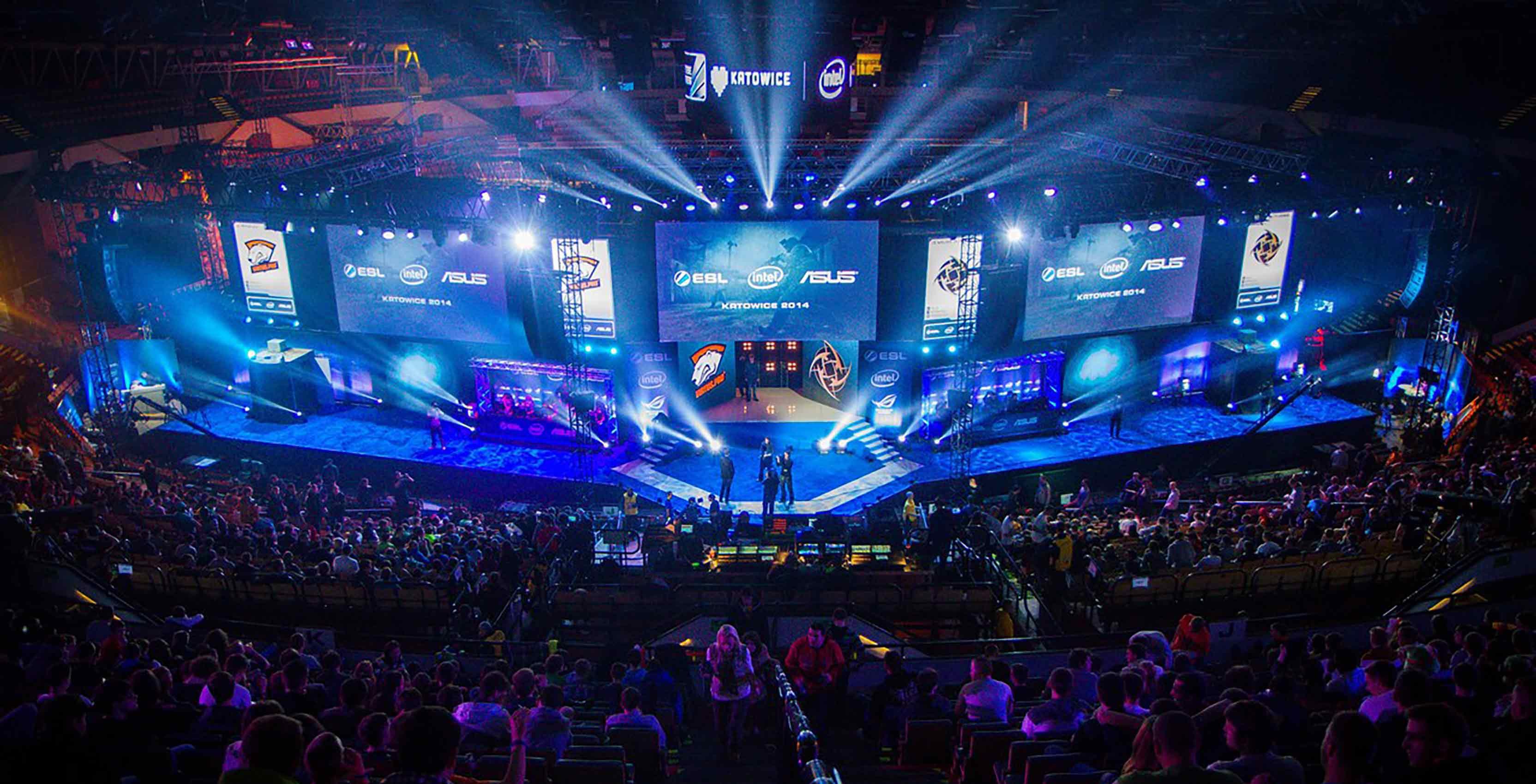 eSports ESL tournament