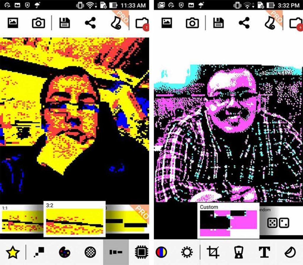 8Bit Photo Lab Faces
