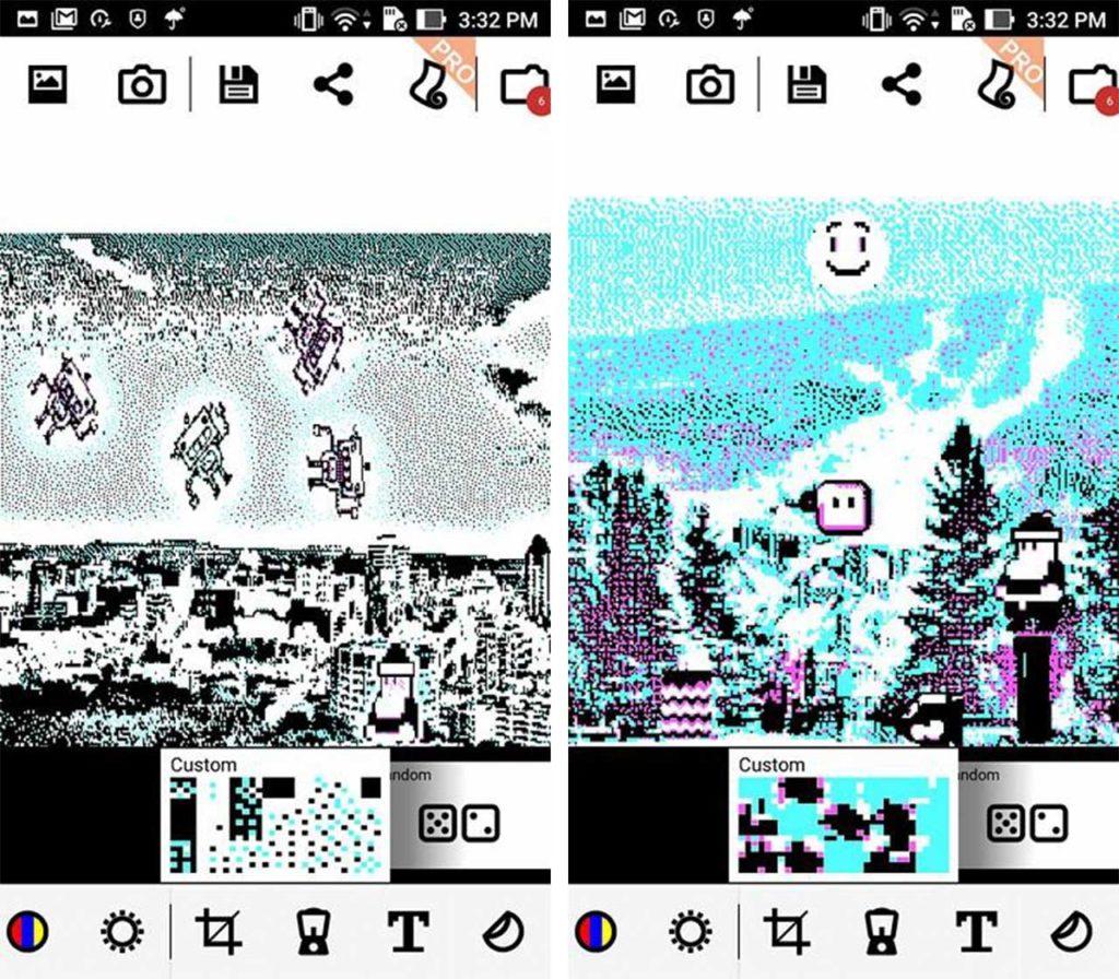 8Bit Photo Lab Mario