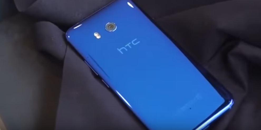 HTC U11 glossy rear