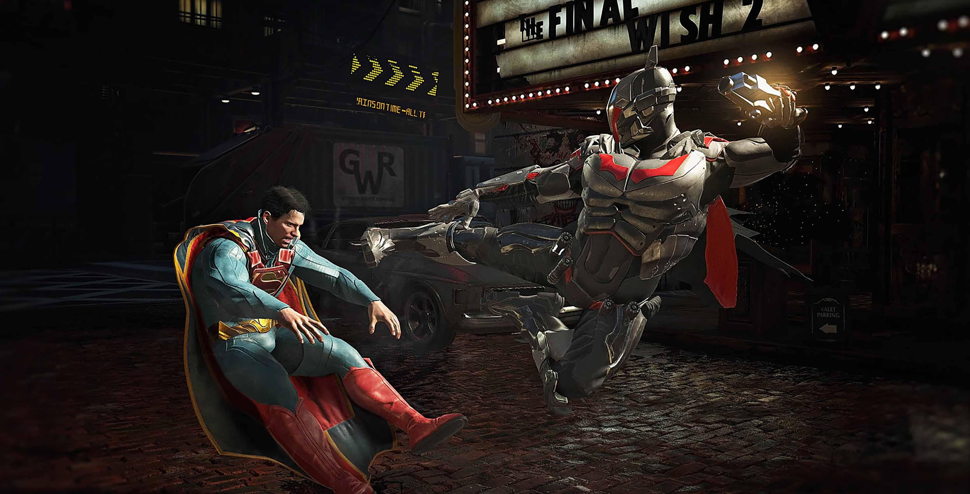 Injustice 2 Batman v Superman