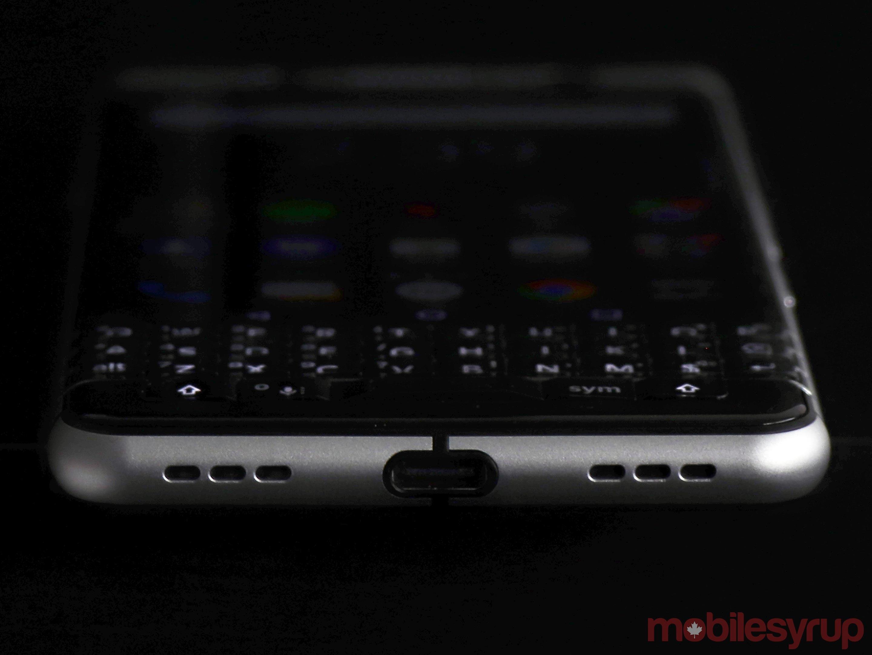 BlackBerry Keyone usb-c