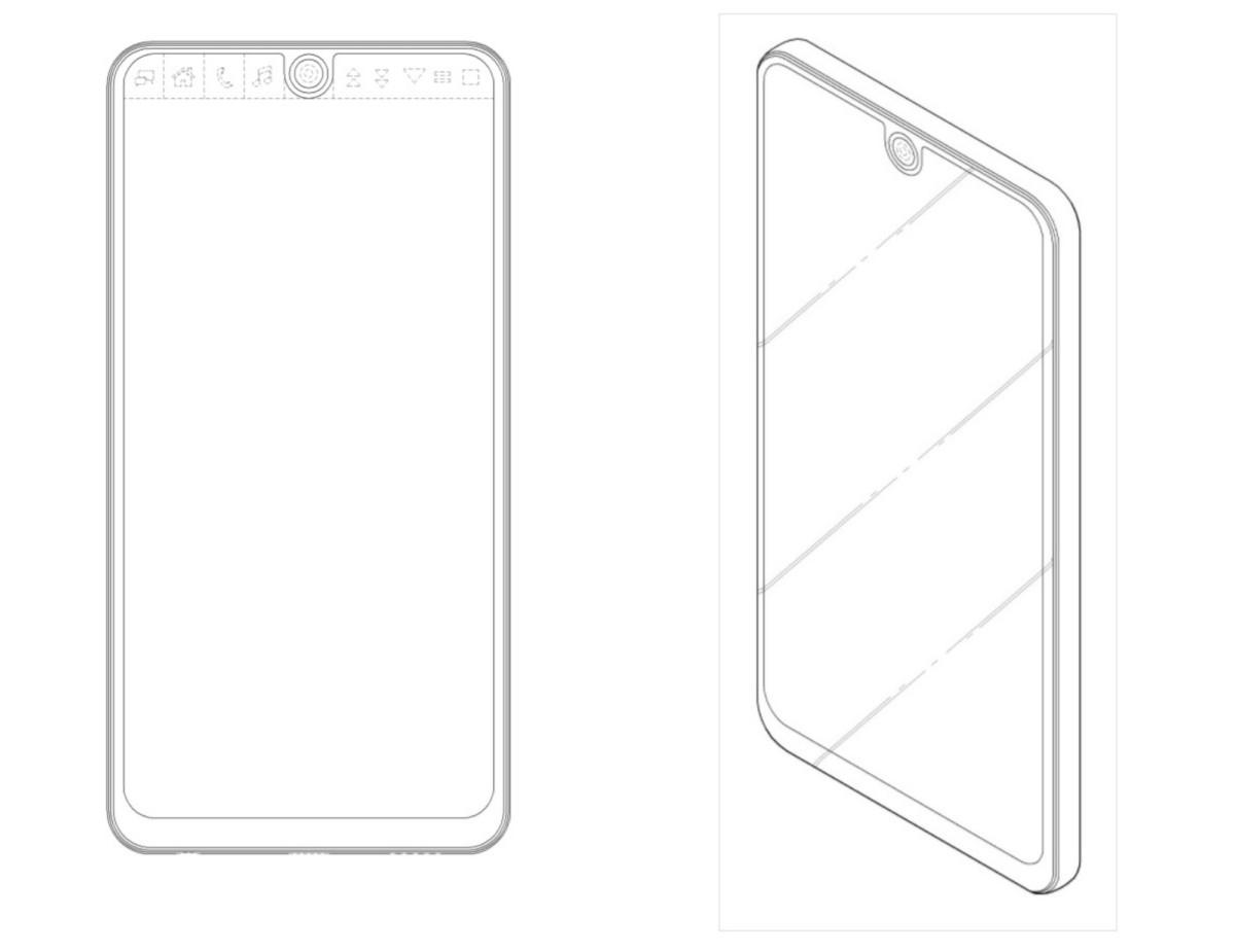 Patent design for maybe the LG V30