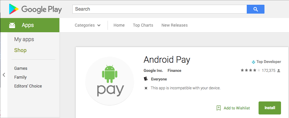 Android-Pay-Google-Play-Store-Incompatibility