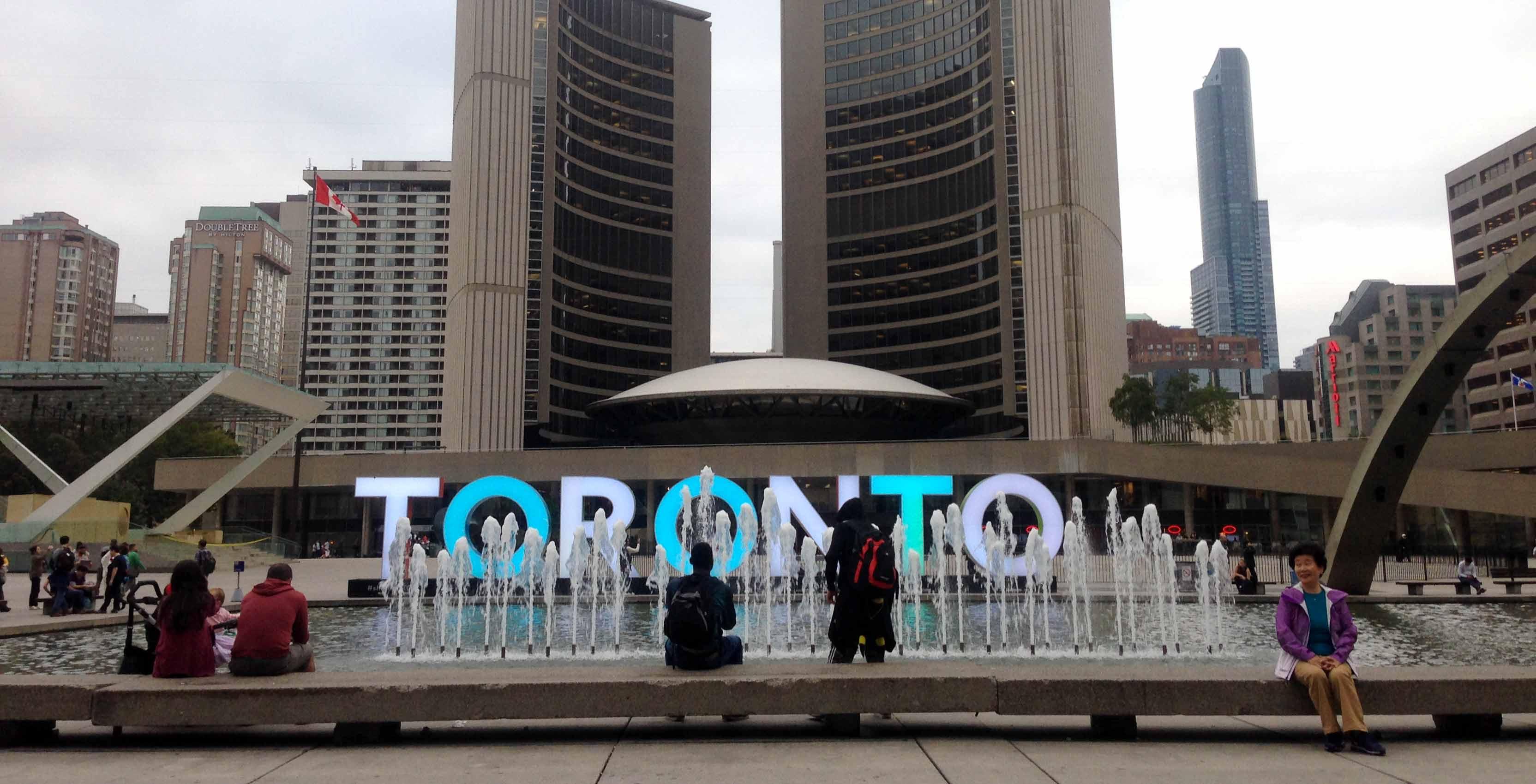 Toronto City Hall front