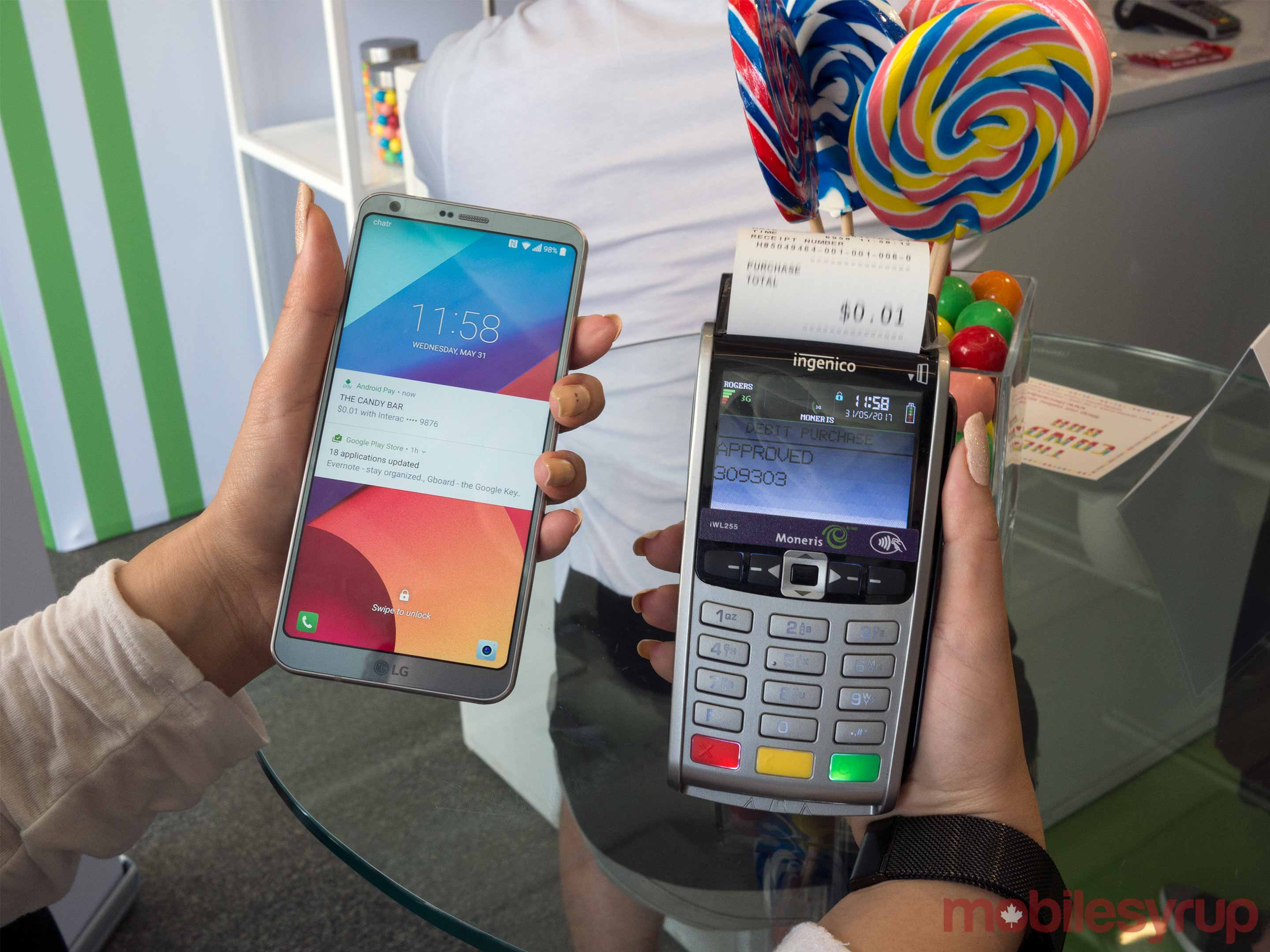 Android Pay Terminal