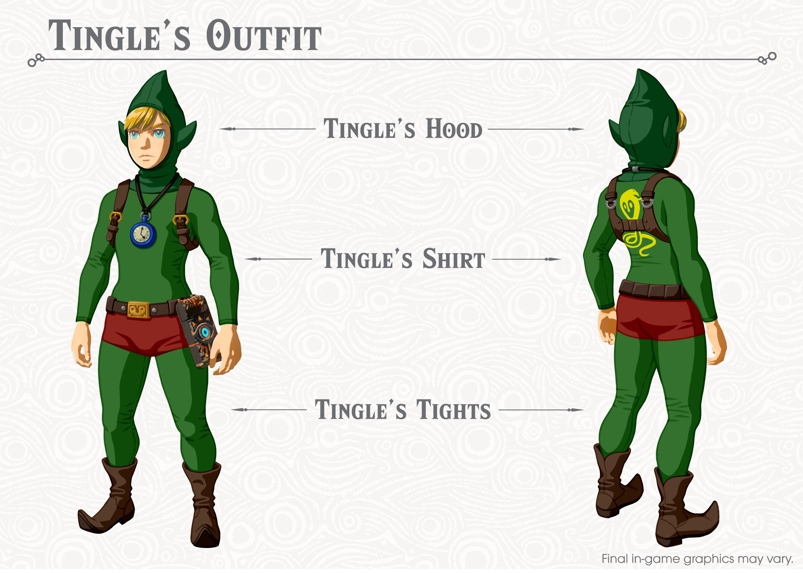 Breath of the Wild Tingle Costume