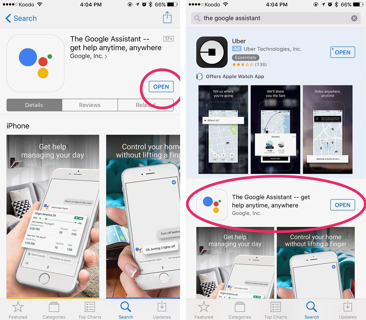Google Assistant Screenshot 2