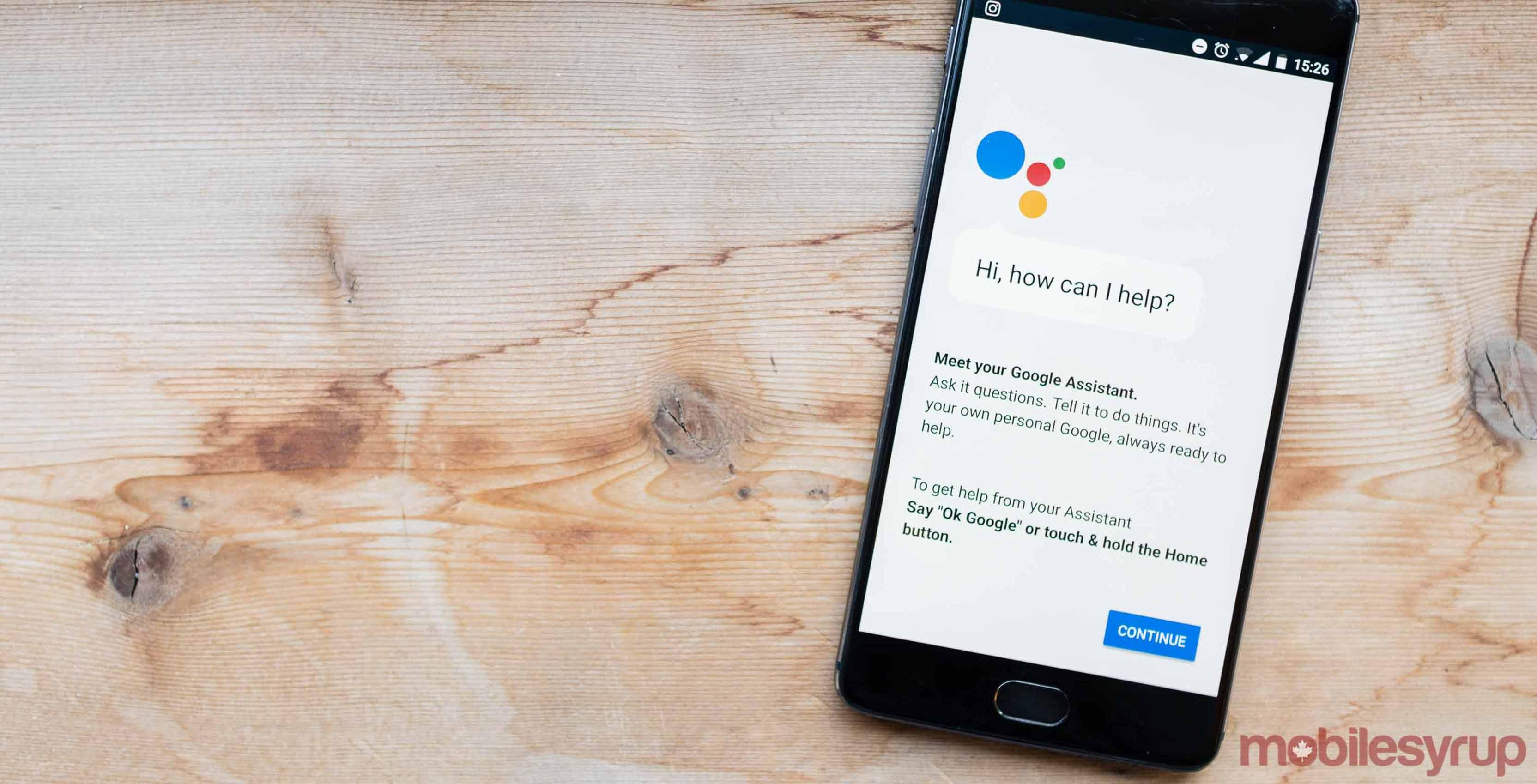 Google Assistant Nougat
