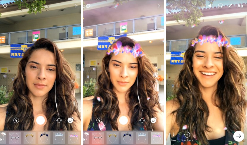 Instagram Face FIlters