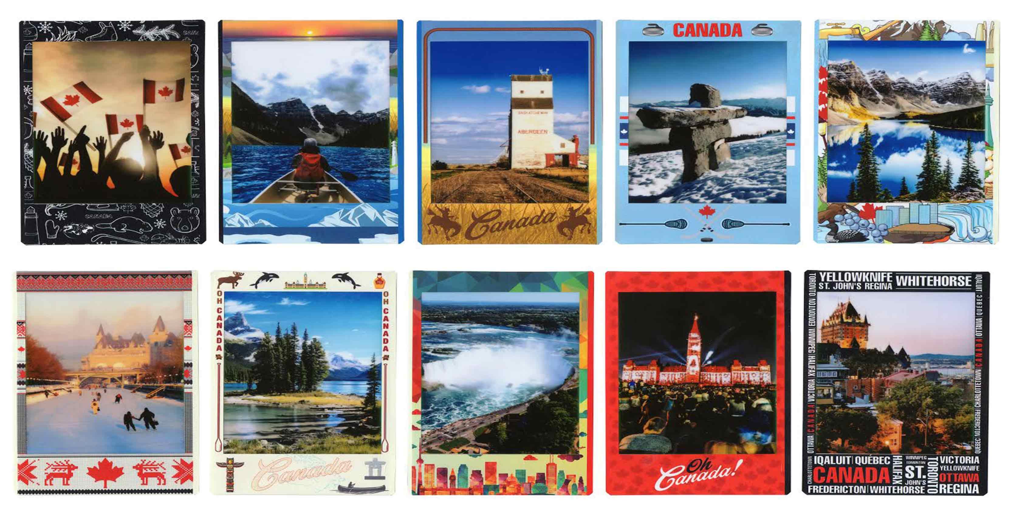 Instax Oh Canada film