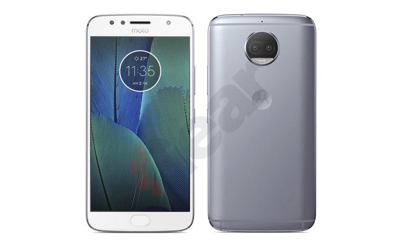 Leaked image of Moto G5S Plus smartphone