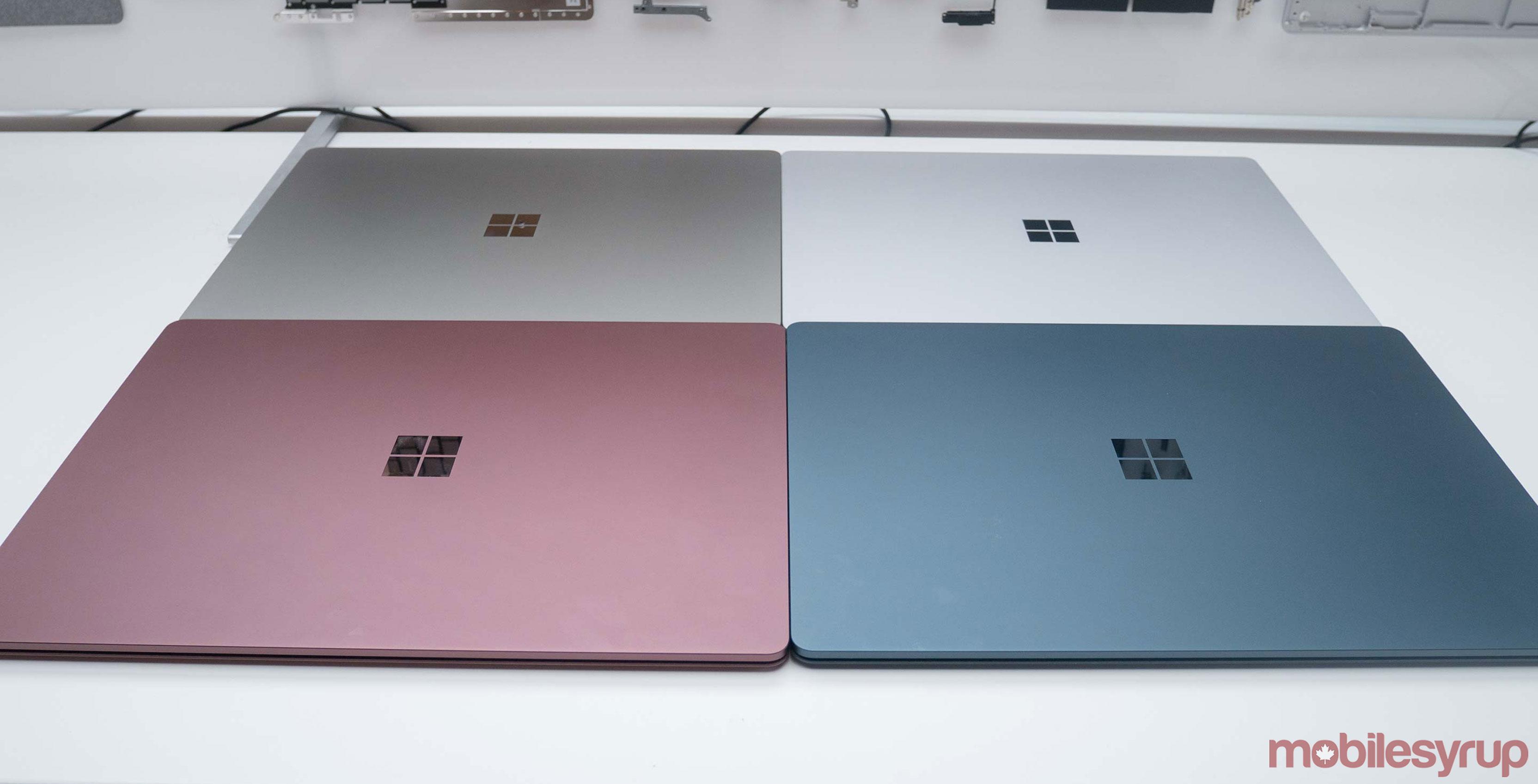 Surface Laptop colours