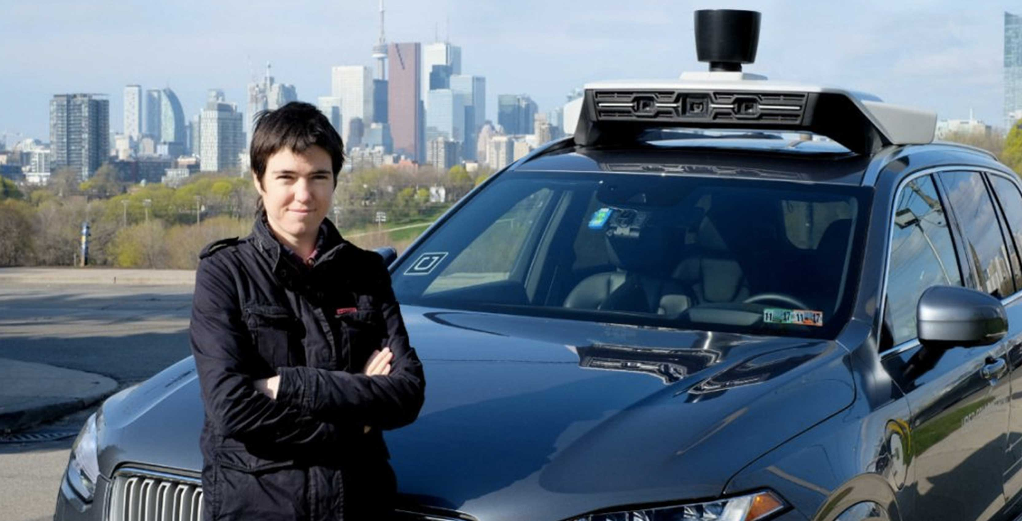 uber driverless car testing Toronto
