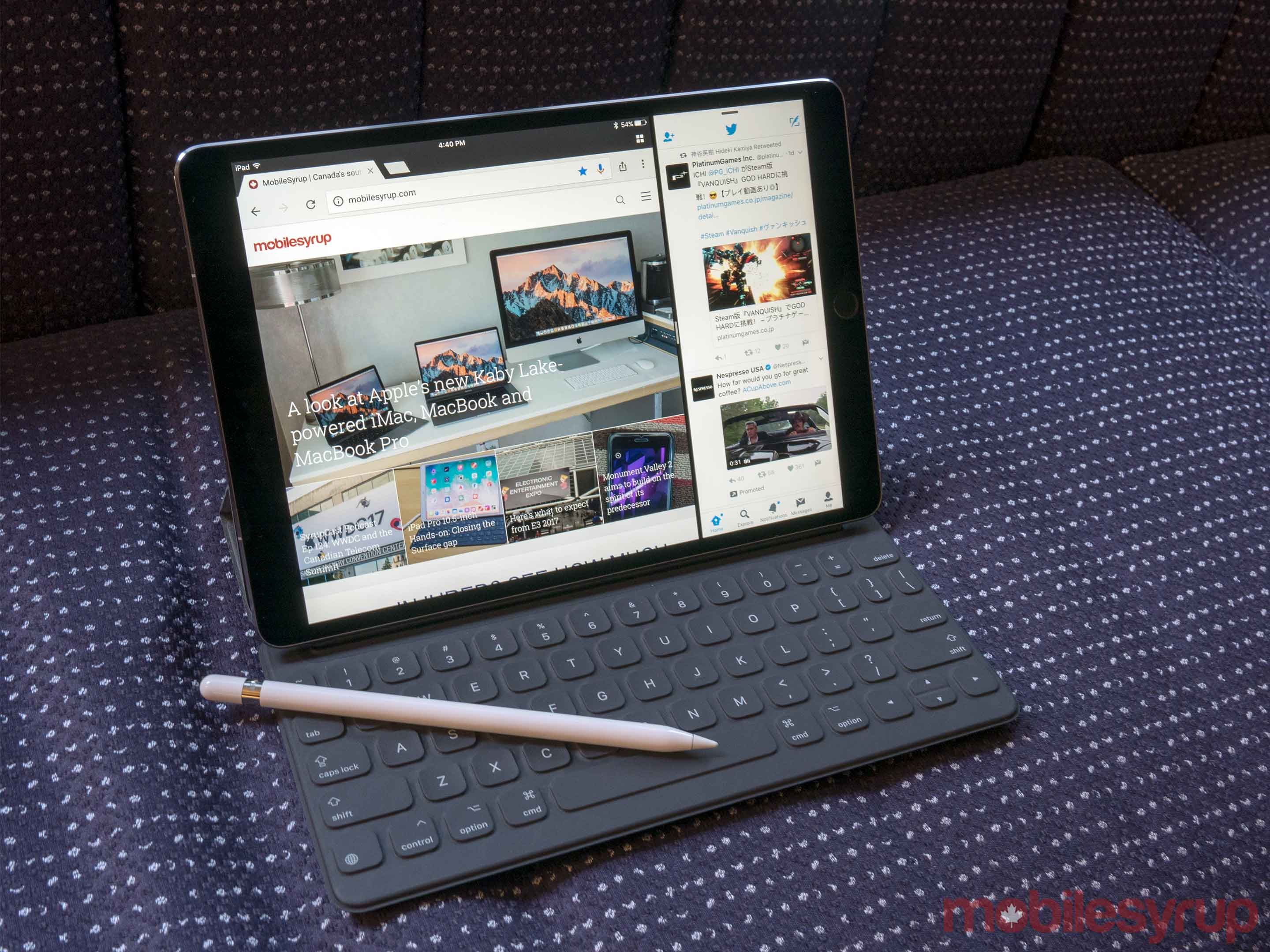 10.5-inch iPad with Pencil
