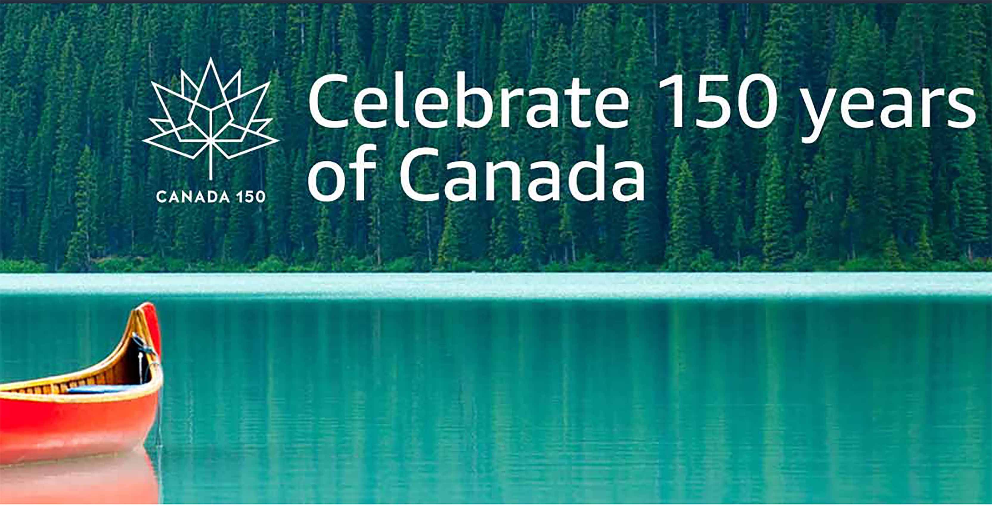 Celebrate 150 years of Canada