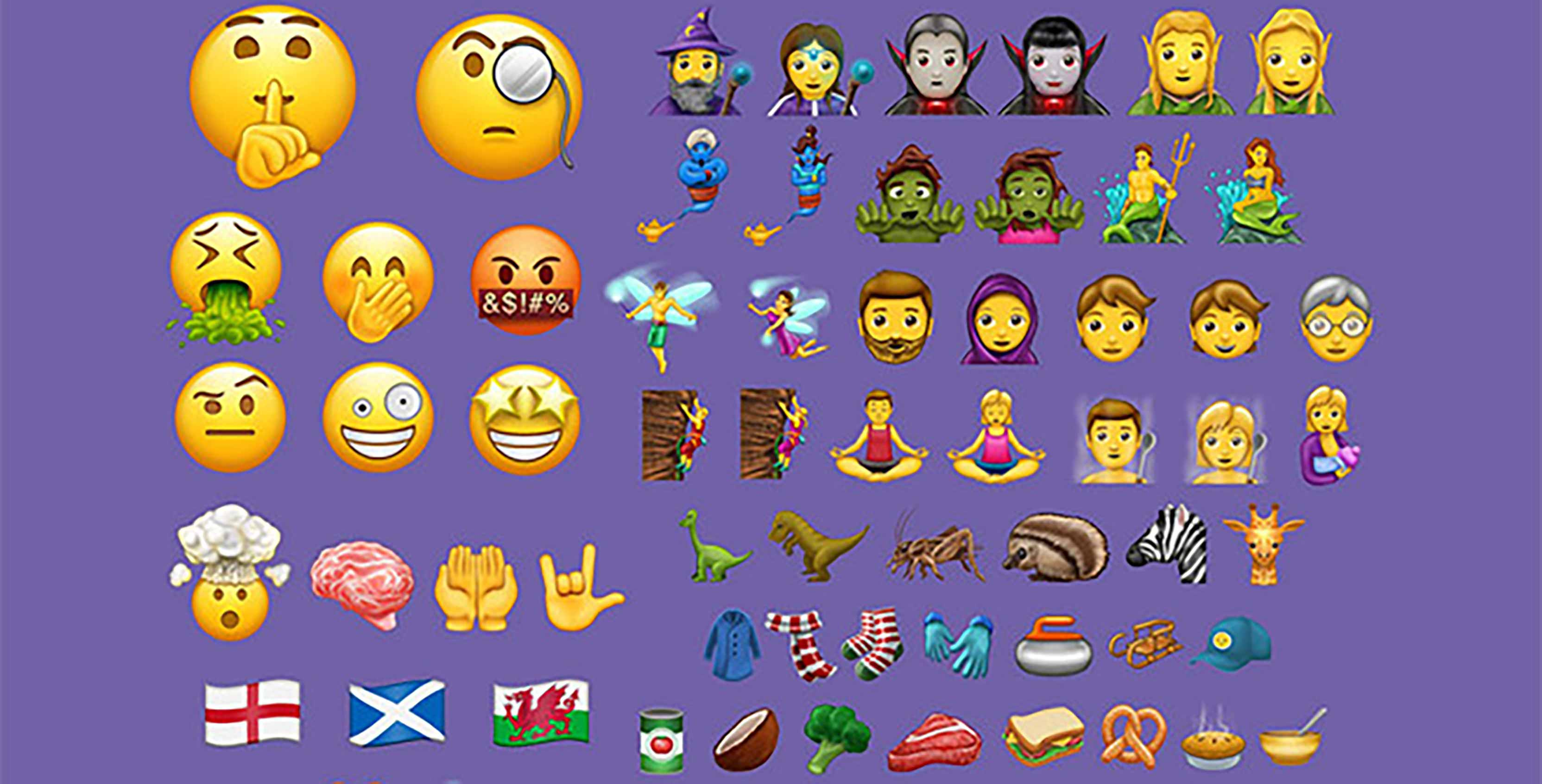 Emoji Unicode 10 update