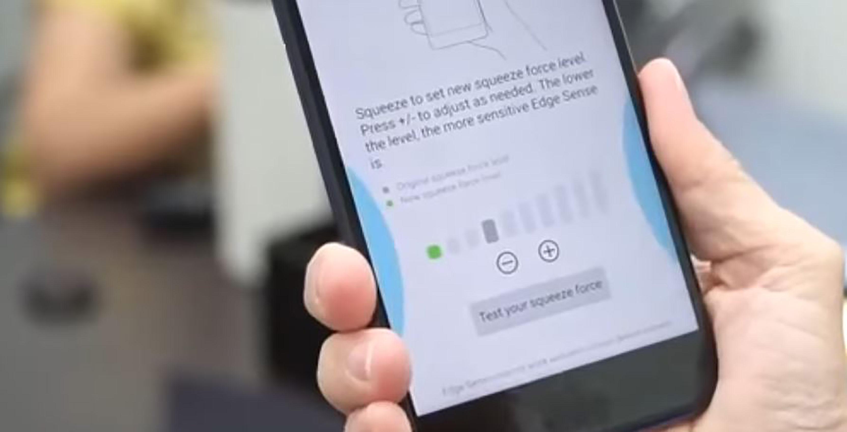 HTC U11 Edge Sense