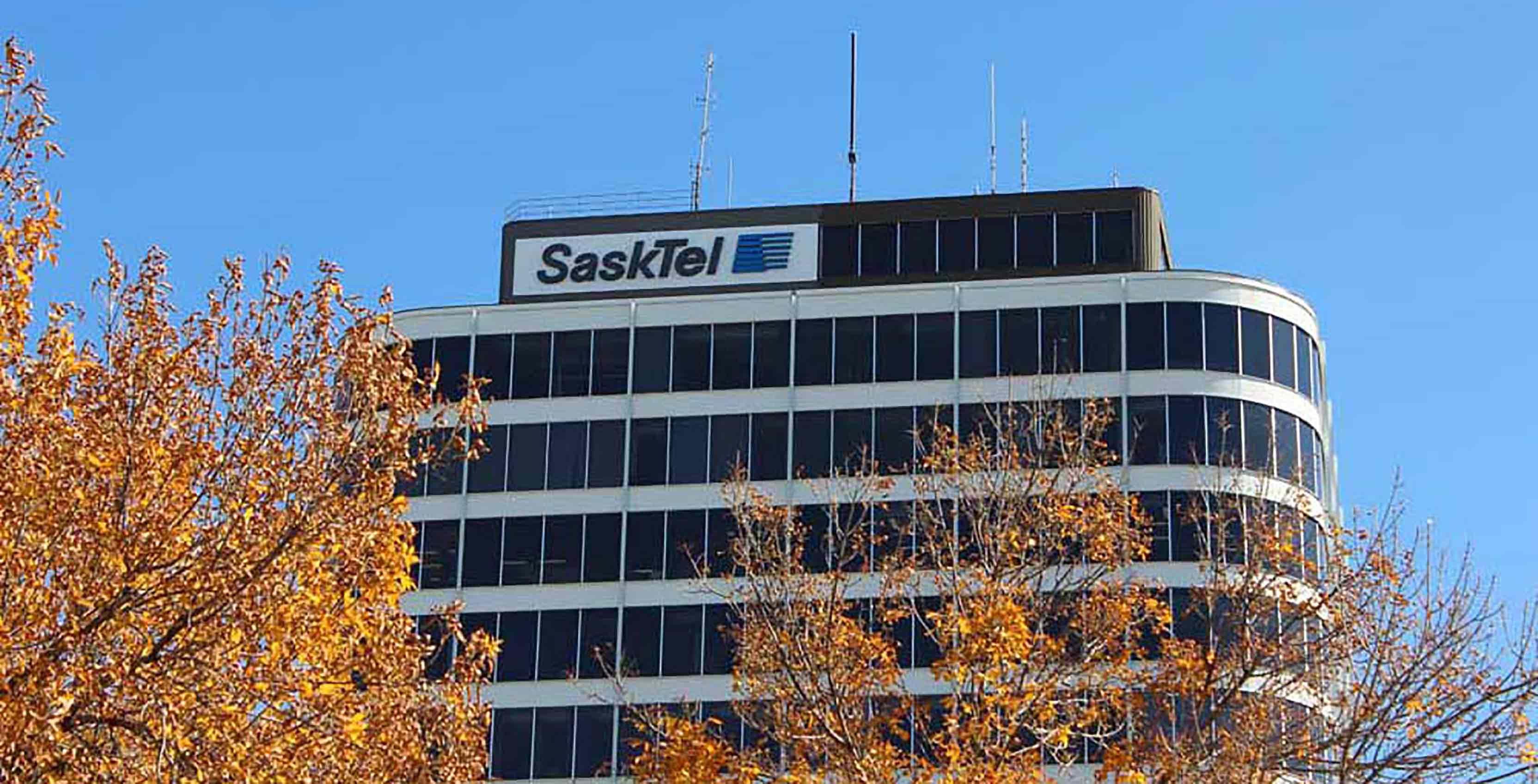 An image of SaskTel's Saskatchewan headquarters
