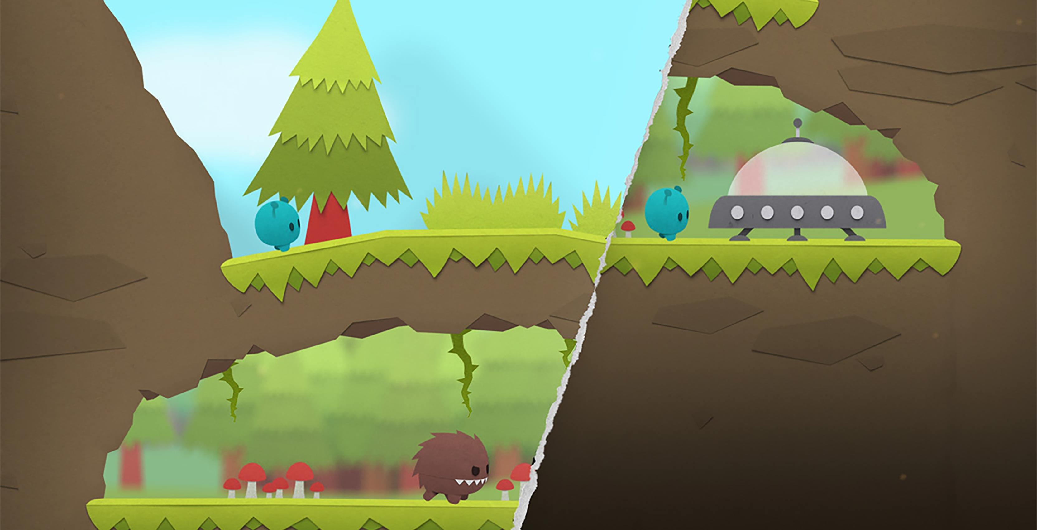 SplitterCritters game screen
