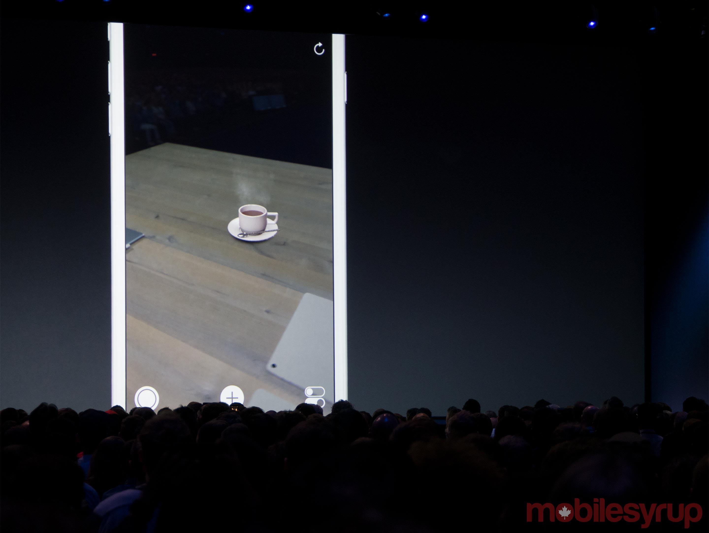 Screenshot of Apple's ARKit APIs