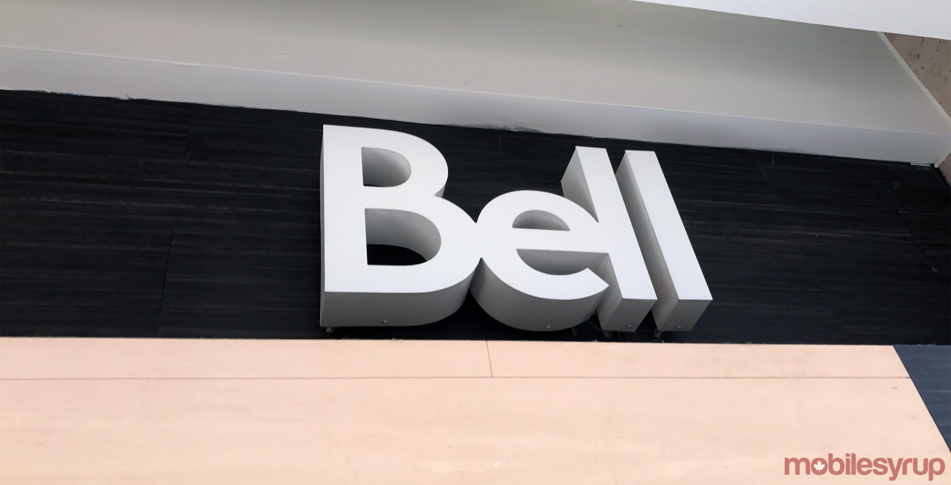 Bell store sign