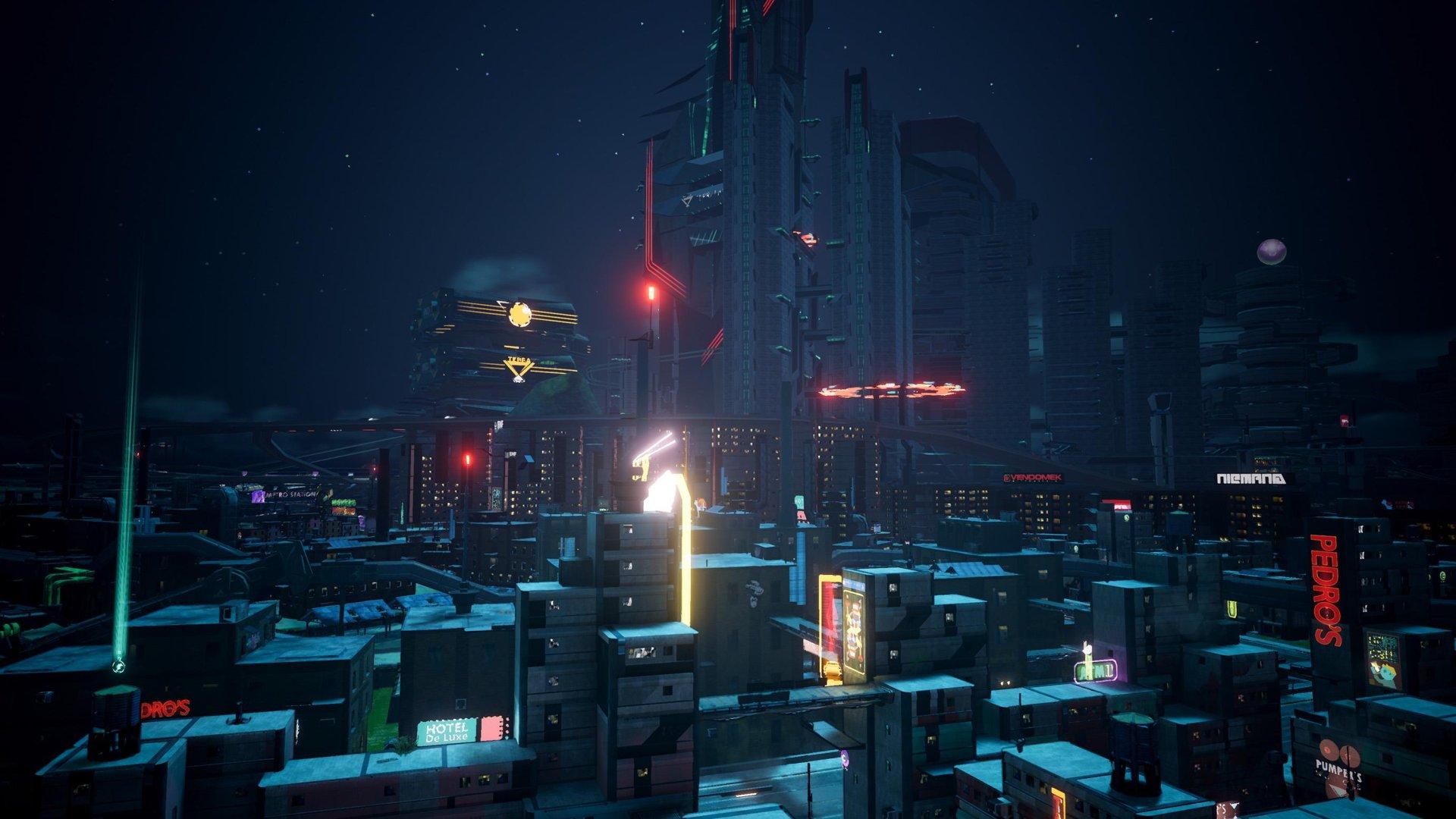 Crackdown 3 city landscape screenshot