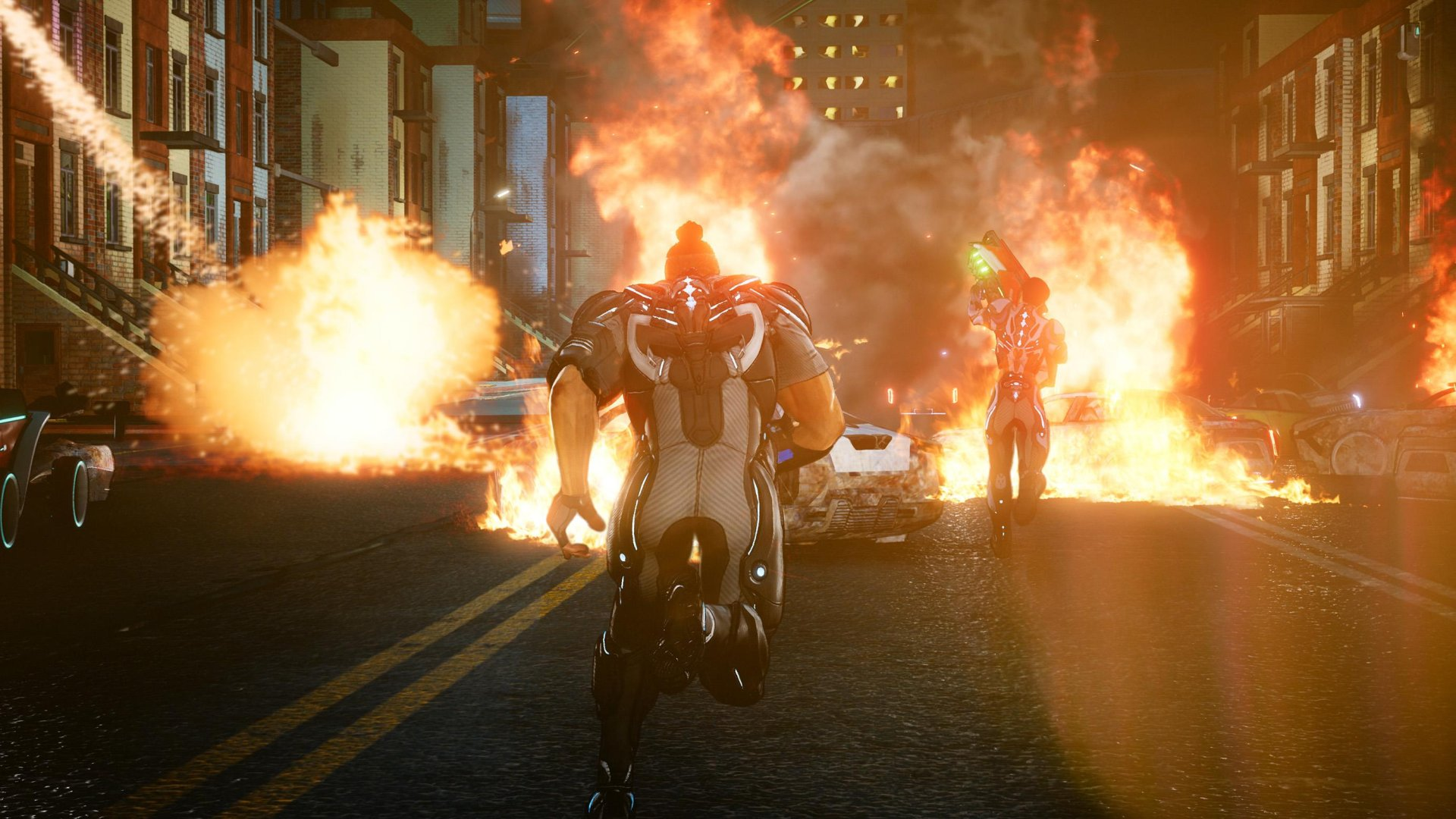Crackdown 3 explosion screenshot