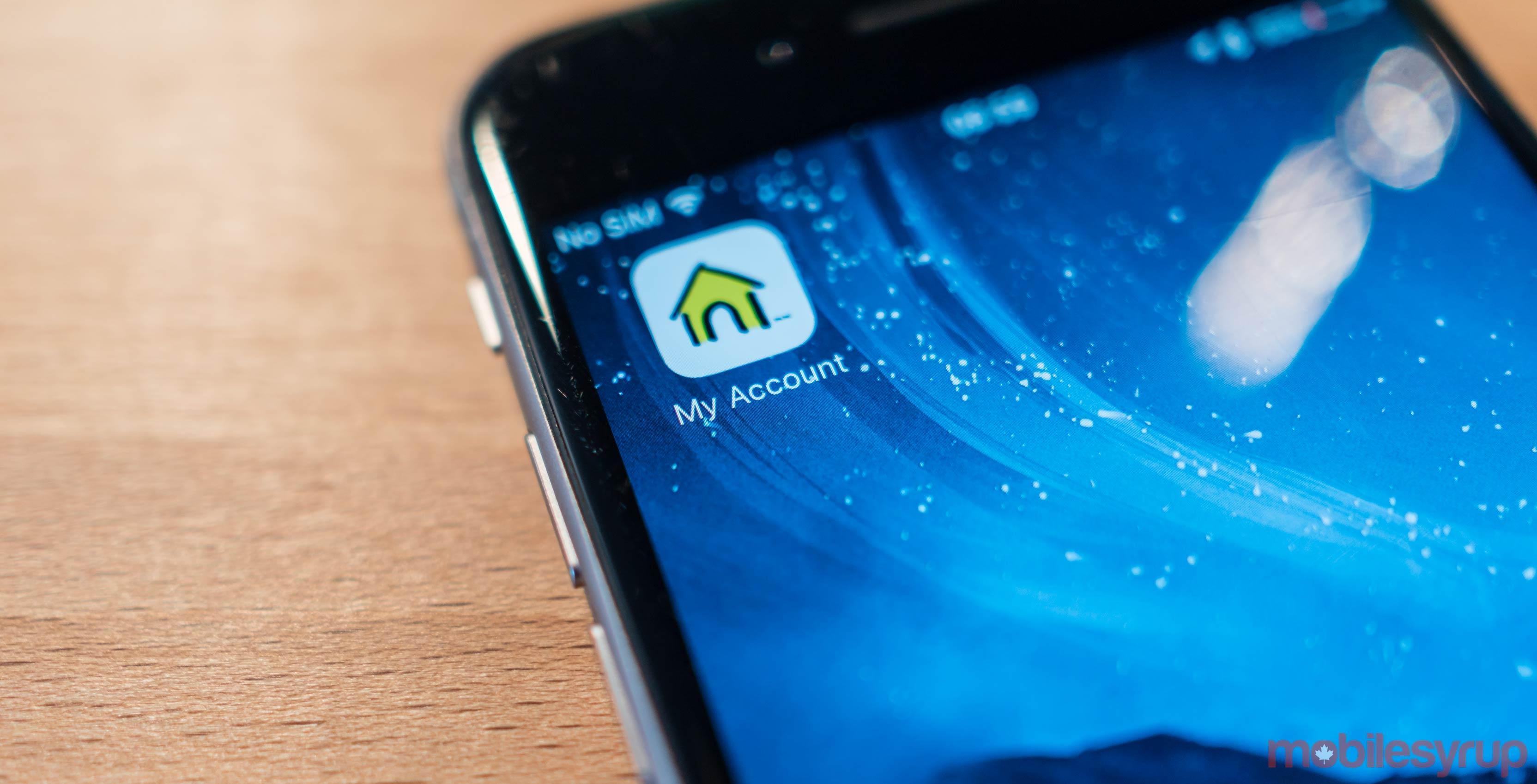 Fido My Account iPhone app