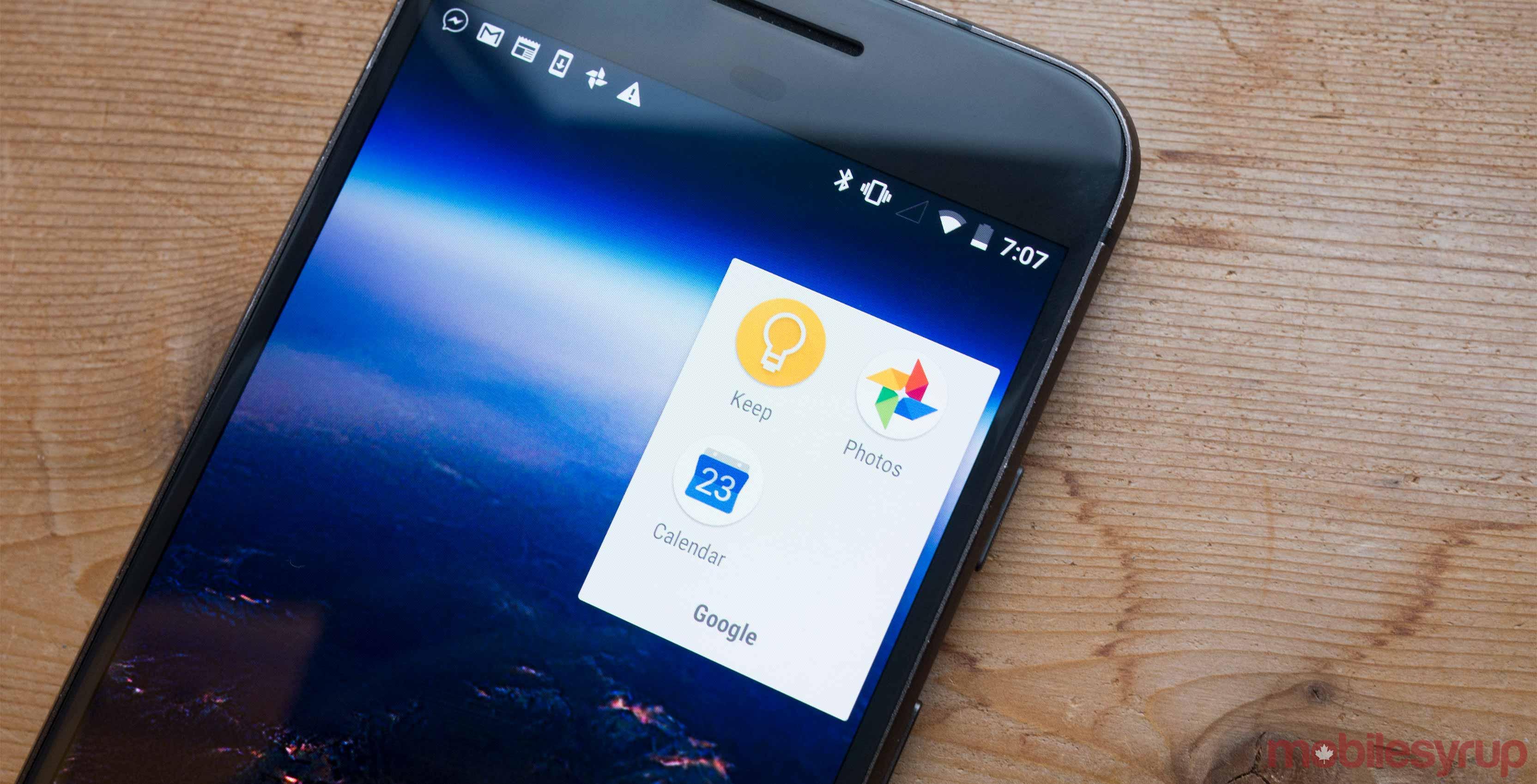 Google Photos on phone