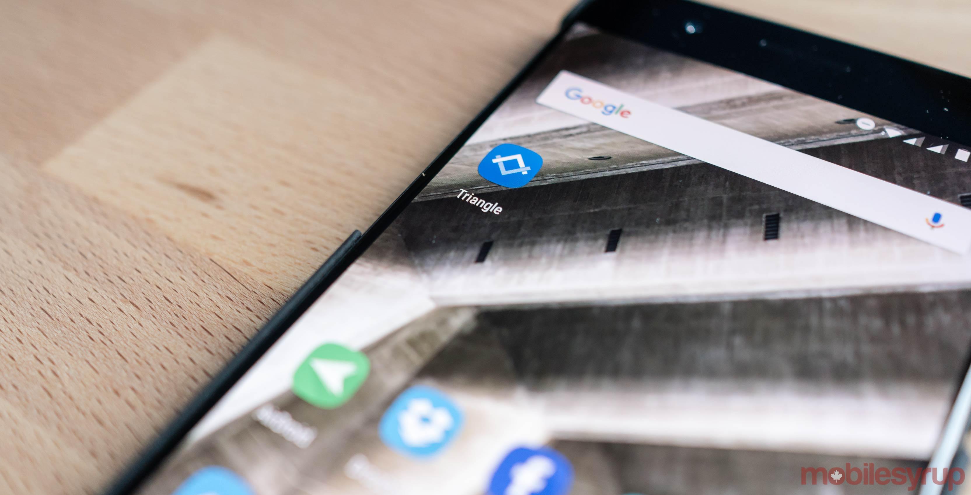 google-triangle-app