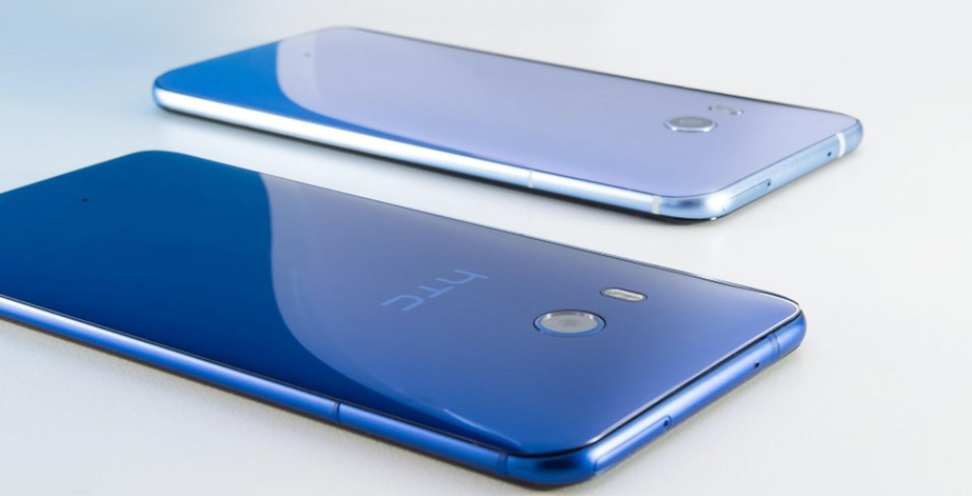 Promotional render of HTC U11 smartphone