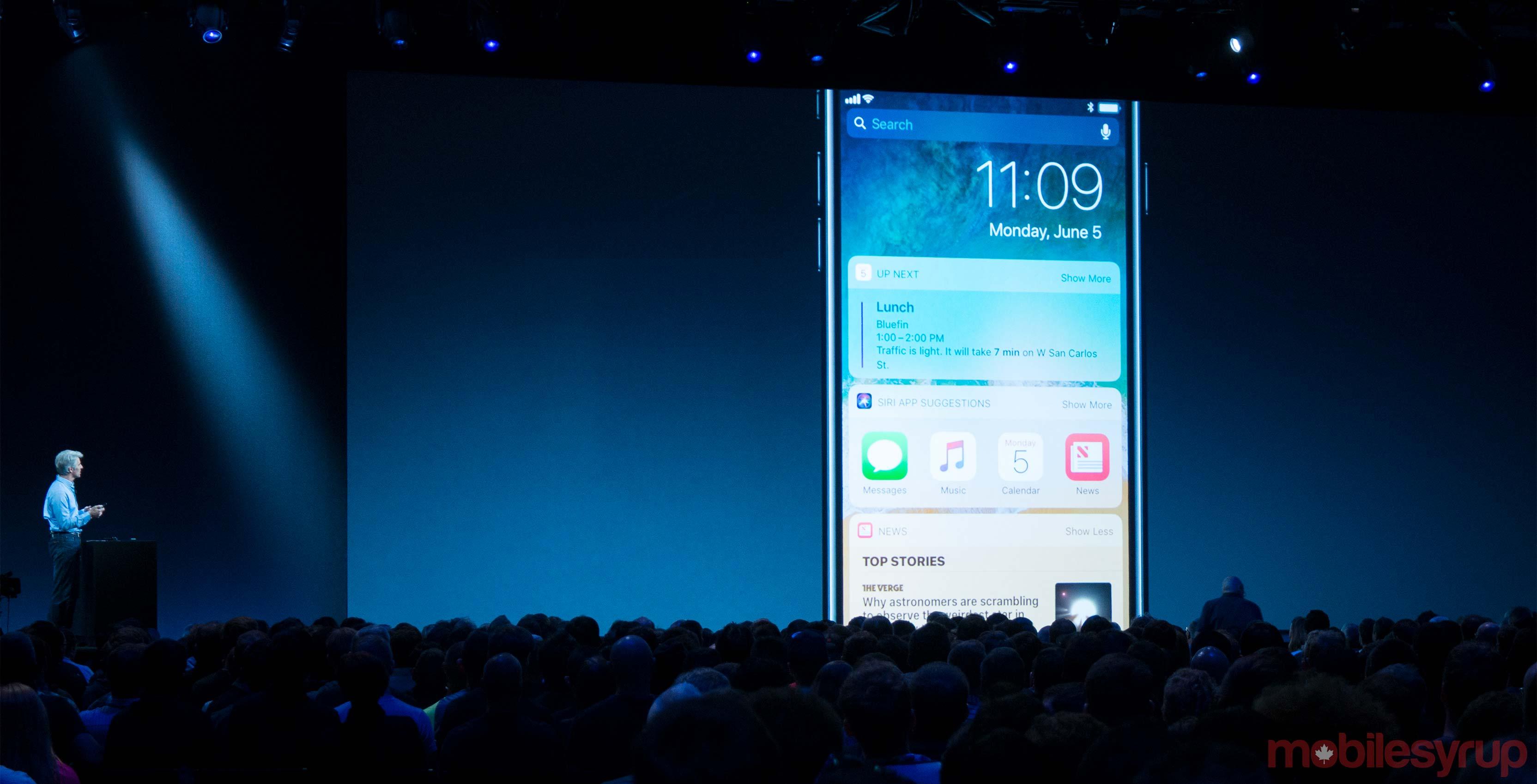iOS 11 WWDC