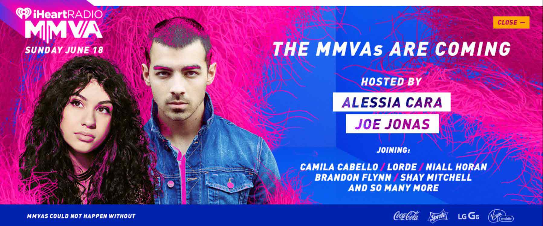 Much hosted by Joe Jonas and Alessia Cara poster