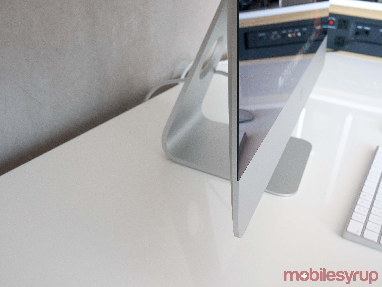 iMac side view