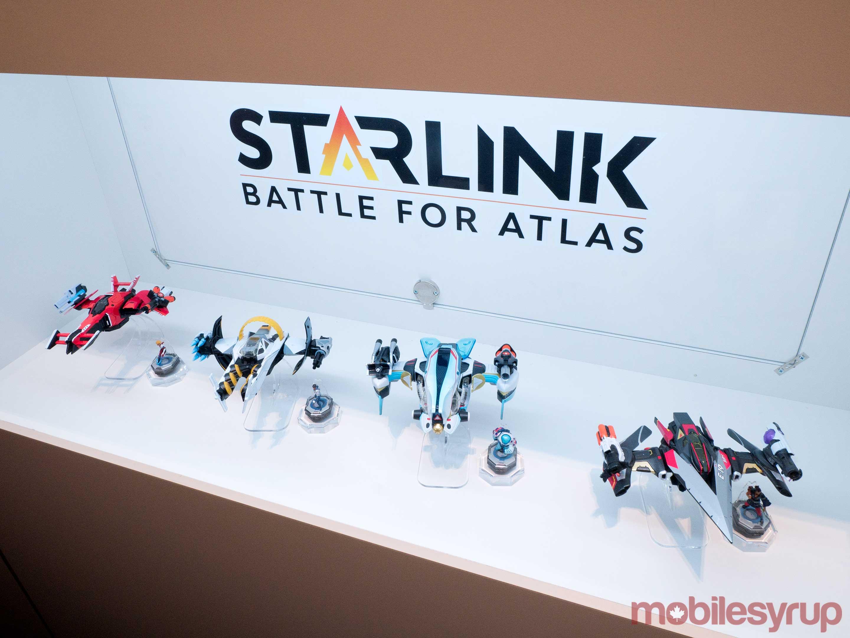 Starlink action figure set