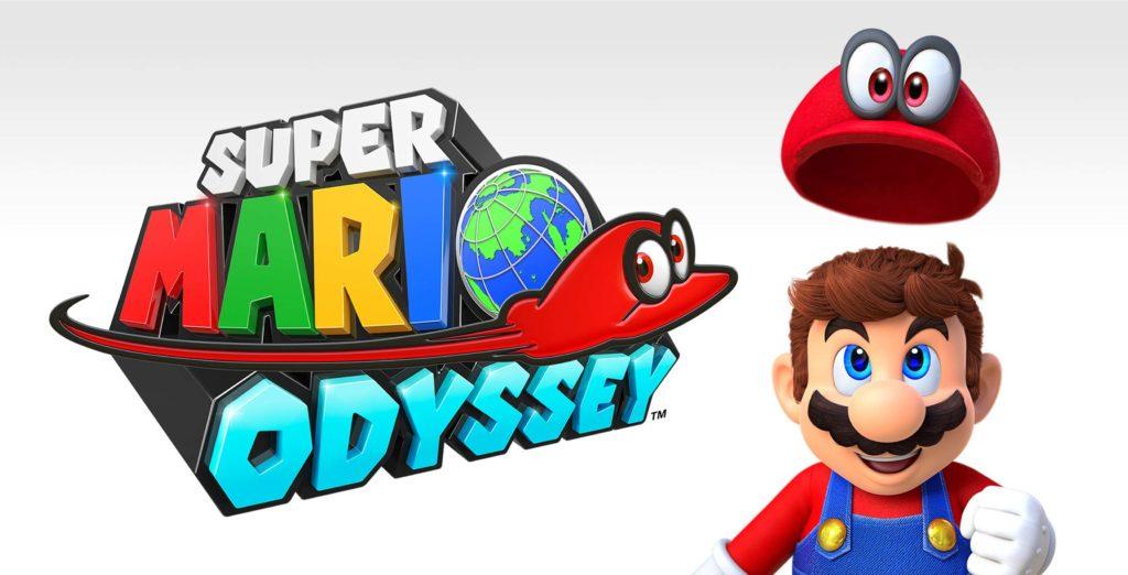 Super Mario Odyssey key art