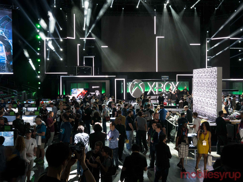 Xbox One X showcase