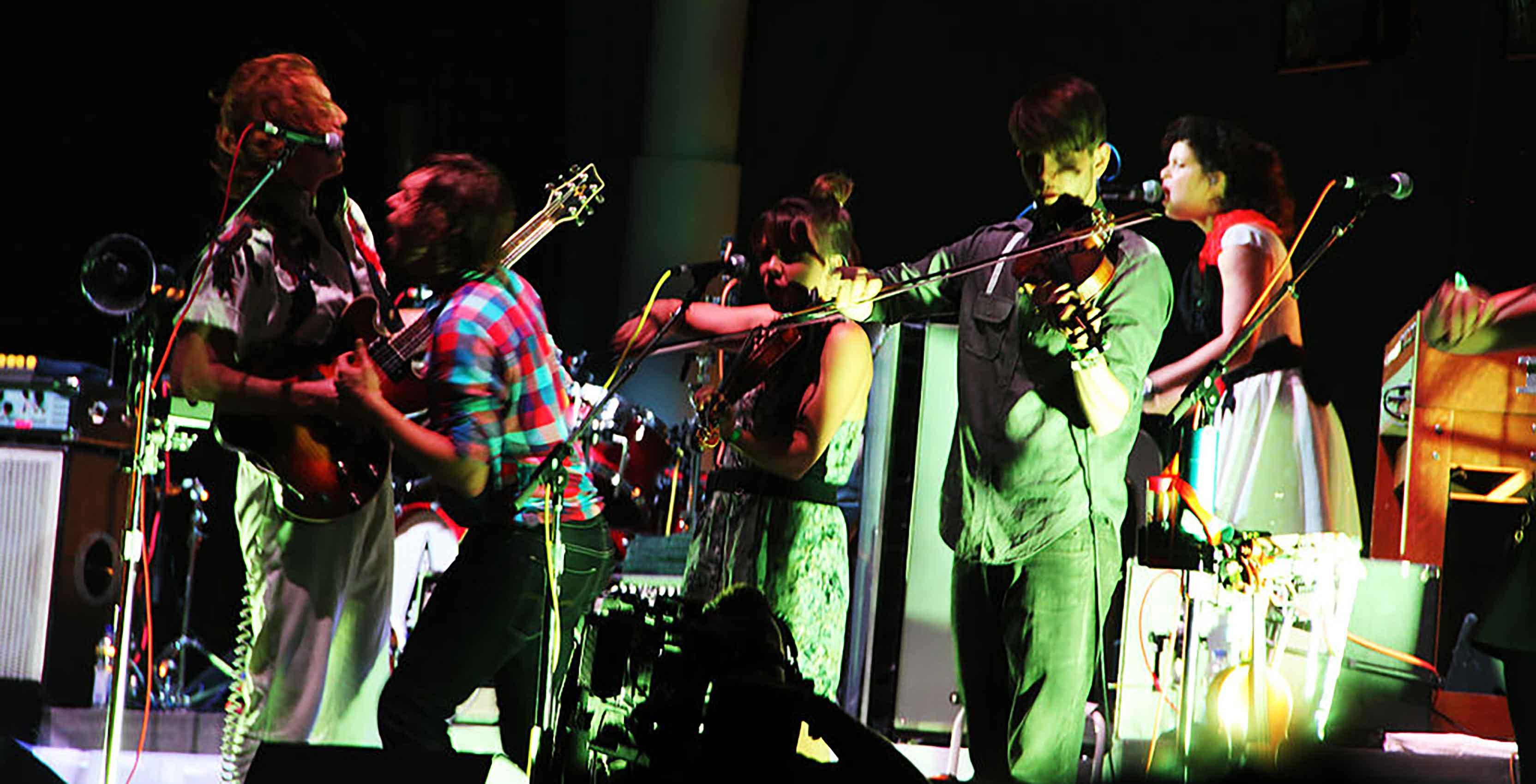 Arcade Fire concert Osheaga