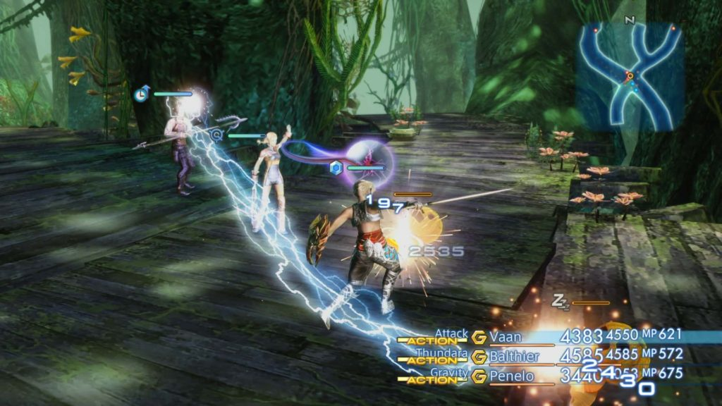 Final Fantasy XII Woods fight