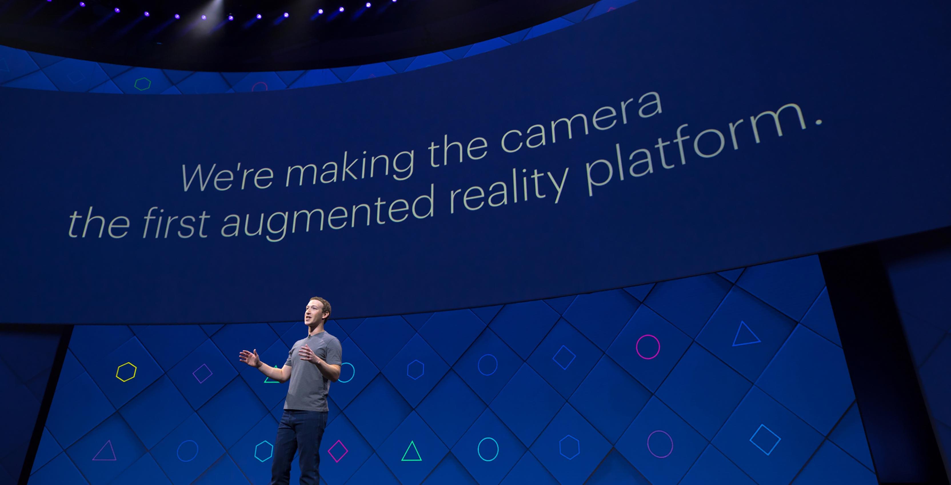 Facebook F8 event Mark Zuckerberg